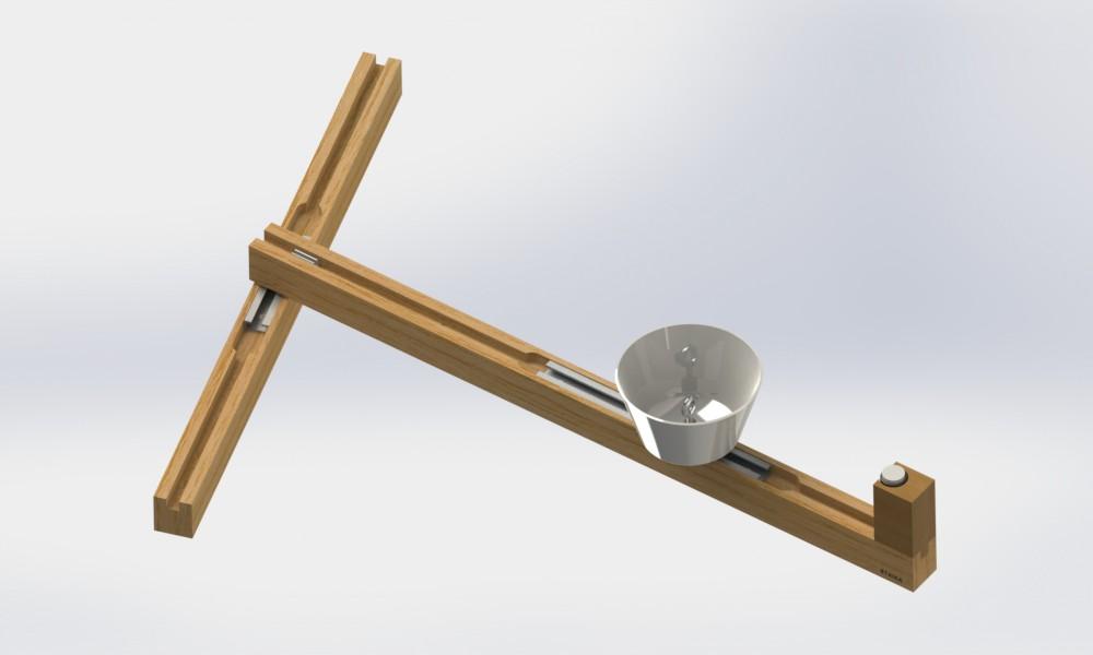 Dubbeltrådslampa tri